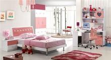 lovely children bedroom furniture design with pink color