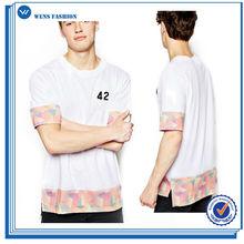 Export Quality Custom-Made Casual Mens Linen T-Shirts