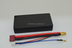 High Rate Discharge RC Lipo Battery 8200mAh 100C 2S2P 7.4V Hard Case Lipo Battery For Car model