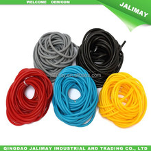 Natural latex rubber stretch tube