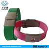 special stainless steel bracelet magnetic bracelet /ID silicone bracelet