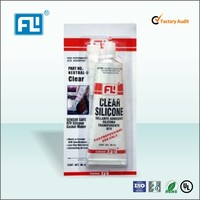 Hot sale transparent RTV silicone sealant, silicone gasket maker