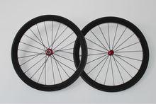 chino rueda de bicicleta de carbono con una capa de freno de aleación de aluminio