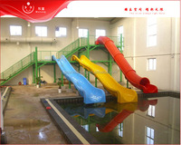indoor aqua park equipment water slide tube for summer kids play