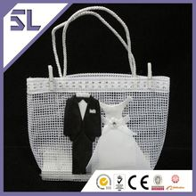New Arrival Mini Favor Bags Bride And Groom Chocolate Bag Wedding Candy Boxes