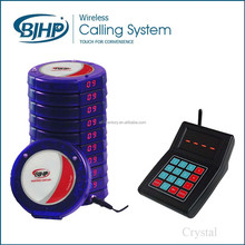 coffee shop / restaurant / office smart wireless call system, customer paging systems made in china