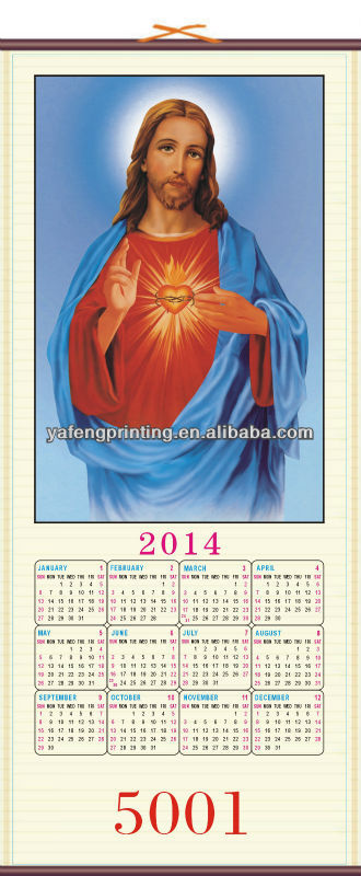 Year Calendar Buy : New yearly wall calendar of jesus christ buy