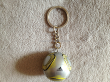 Promotional Soccer Ball/football/basketball/volleyball Soft Plastic Keychain
