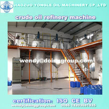 continuous vegetable crude oil refinery/oil refining machine with ISO&CE