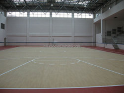 8mm wood pvc sports flooring
