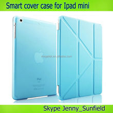 Tablet case Triangle adjustable stand smart cover case for ipad mini,for ipad mini case,for ipad case cover
