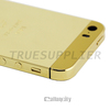 2015 Newest Gold plated housing for iPhone 5 5s 24kt gold housing replacement