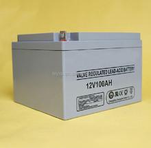 CE Certificate Solar battery gel batteries 12v 100ah
