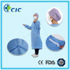 Sterile disposable standard surgical gown in nonwoven