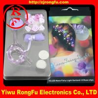 High quality light up bow headband/flashing lighted headband/crystal rose flower headband