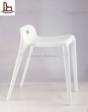 Mordern design stackable horse pony stool plastic stool