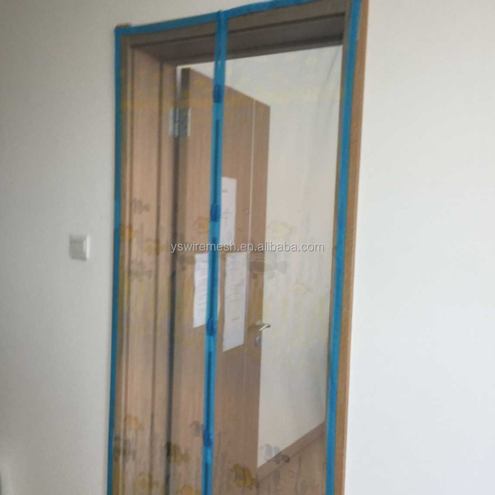 Magnetic screen door magnetic door curtain mosquito for Buy screen door