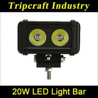 led work light bar 20w ,auto led driving light bar, high power led work light bar for motorcycle Atv SUV trucks sale