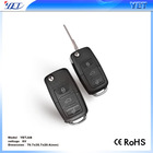 Tampa do carro 433Mhz rolling code controle remoto