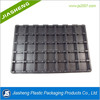 China factory custom PS black plastic ESD packaging tray for electronic