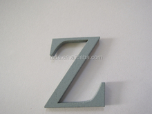2015 Painted Technique and Wood,MDF Material Wooden craft Letter,children spell words toy