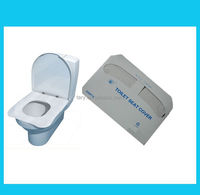 Easy travel pack toilet seat cover paper