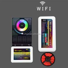 DC12/24V RGB smart color changed full touch led controller wifi solar controller m-7