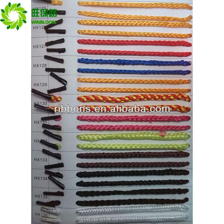 Bas élastique polyester corde manille chanvre corde 2 mm
