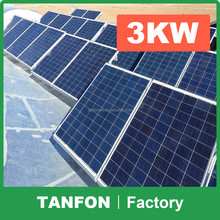 domestic solar power generation system 2KW 3KW / china solar panels cost 5KW 10kw / 3kw solar energy price for home