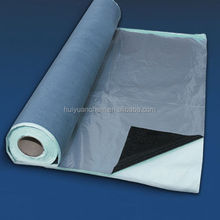1.0mm,1.2mm,1.5mm thickness self adhesive roof waterproofing membrane with aluminum film faced