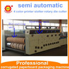 4 color printer slotter and Rotary die cutting machine for corrugated cardboard