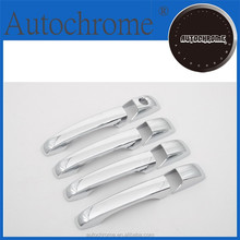 Business gift chrome car trim accent styling Chrome Door Handle Cover for Jeep Patriot 07-10