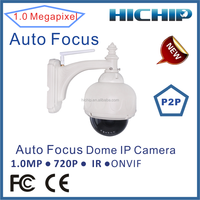 Dome Camera Style and CMOS Sensor Cheap Price HD Cost-effective 720P Network PTZ Dome Security IP Camera