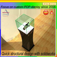 Acrylic used display show cases pop used display cases