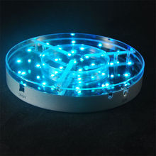 Super Cheap !!! Mutli-color 8inch Remote Controlled Led wedding centerpiece for flower stand
