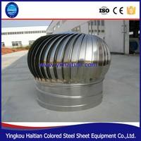 Air Ventilation Type wind driven roof ventilators