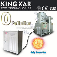 paper incinerator with oxyhydrogen generator