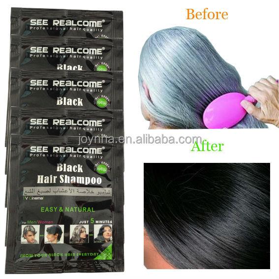 Natural Hair Color Black Hair Dye Shampoo For Cover Grey Hair Dye ...