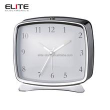 rectangle classic analog hotel electric alarm clocks