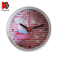 2015 popular can clock cute carton pattern very cheap gift items