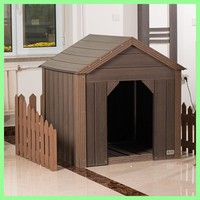 First class easy install anti-aging WPC dog house