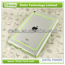 New Simple Crystal PC hard Colorful TPU lines for iPad 5