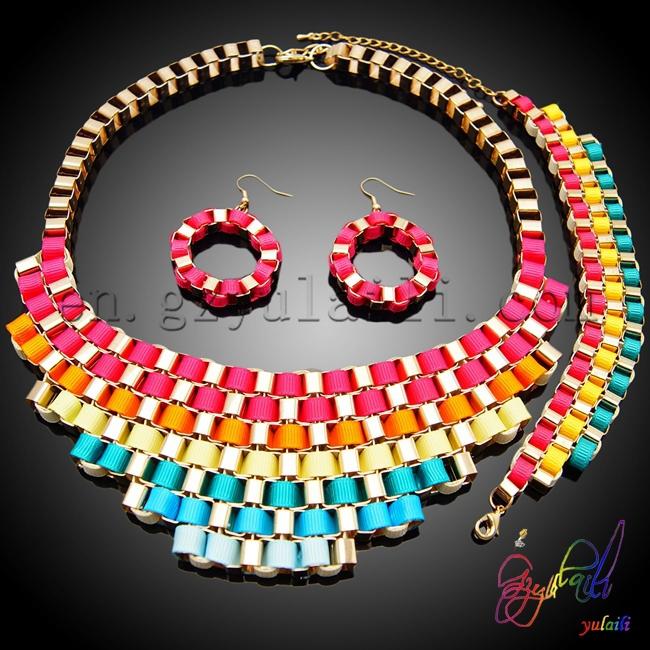 high quality costume jewelry sets cheap necklace bracelet