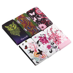 Colorful Snake Owl Flower Upside Down Flip Leather Case For Nokia X