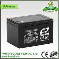 Lead Acid Rechageable UPS / electronic scale/emergency light Battery 12v 10Ah