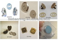 SY Custom 10-18mm Magnetic Buttons Magnetic Snap Clothes