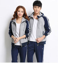 2015 Autumn/Winter new design sport couple set for men and women,Wholesale high quality casual sports clothes for couple