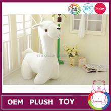 25cm customized handmade plush white sheep lamb for sales
