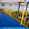 heavy duty cold-rolled steel powder coat industrial mezzanine floor