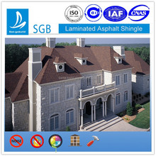 Asphalt Coated Roof Shingle Tile Differenct Models and Colorful and Easy Installation
